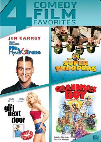Me, Myself & Irene/Super Troopers/The Girl Next Door/Grandma's Boy [4 Discs] [DVD]