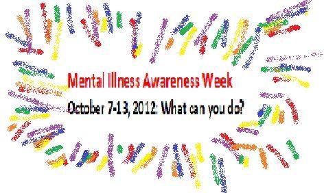 Mental Illness Awareness Week: What can I do? http://bipolarbandit.wordpress.com/2012/10/07/mental-illness-awareness-week-is-october-7th-thru-13th-what-can-you-do/#
