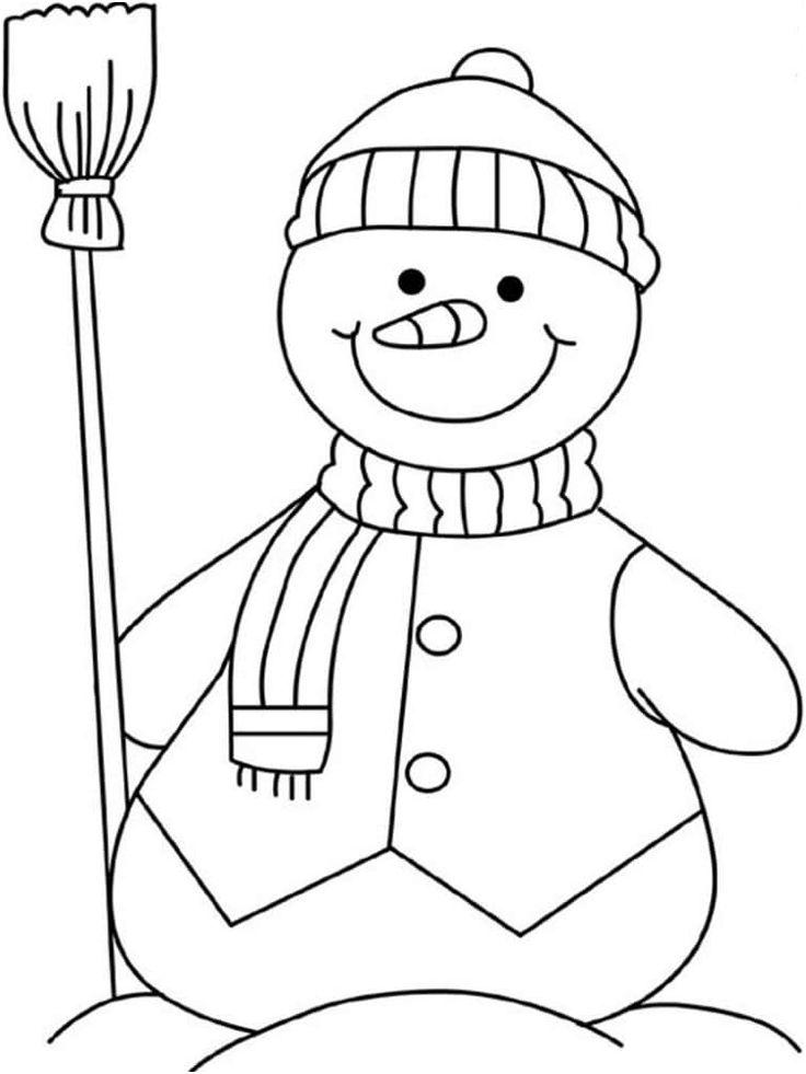 9 Magnificient Coloriage Bonhomme Images   Coloriage bonhomme de neige, Coloriage, Bonhomme de neige