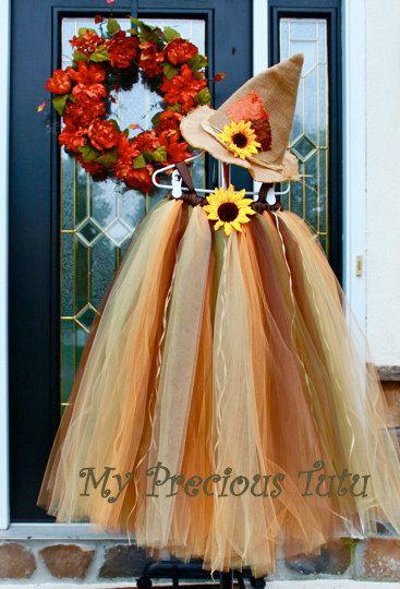 Fall / Halloween Tutu Dress by MyPreciousTutu on Etsy, $60.00
