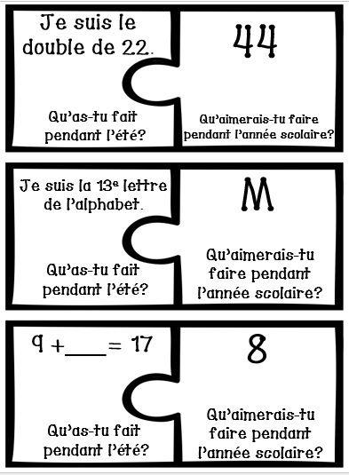 136 best thème: rentrée scolaire images on pinterest   french