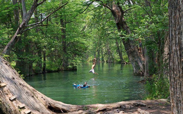 "The Blue Hole, Wimberly, TX""In Texas, swimming holes are synonymous with summer. And the Blue Hole in Wimberley is probably the quintessential example. If Hollywood wanted to cast a swimming hole, it would take its cues from this one."