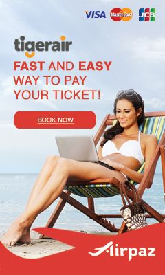 http://www.airpaz.com/en/airlines/TR-Tiger-Airways Find tiger air deals and other cheap flights ticket. Airpaz help you to booking tiger air flight ticket. Subscribe now for all airlines promotion news.