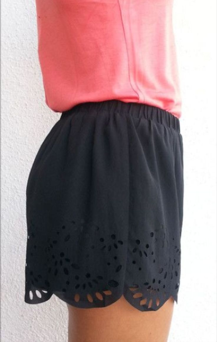 love the details and color of these. Awesome pretty shorts