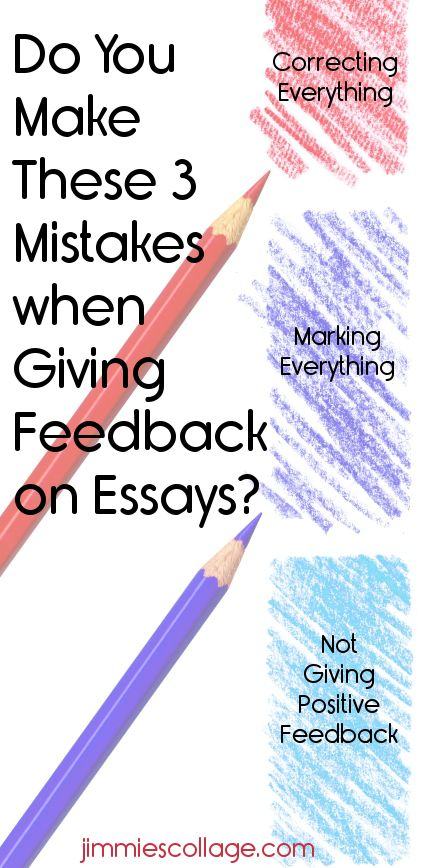 essays on giving feedback Admission essays essays term feedback is vital to a successful dissertation one of the most important steps in writing a successful dissertation is feedback.