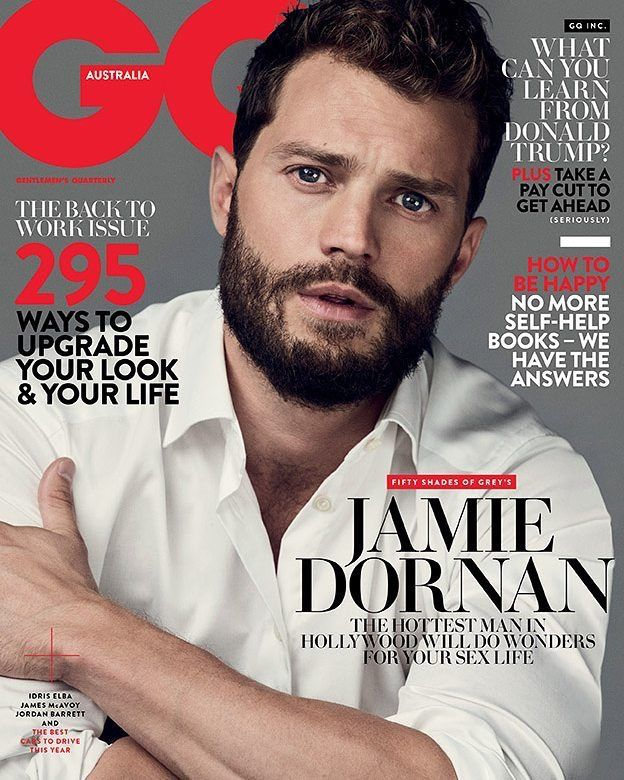 Jamie Dornan covers Australia's GQ 