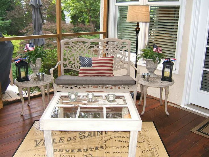 Front Porch Decorating Ideas | Screened In Front Porch Decorating Ideas