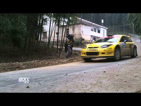 All the action from the China Rally, including an amazing roll-over for Japanese driver Yuya Sumiyama who goes on to win the Asia Cup.
