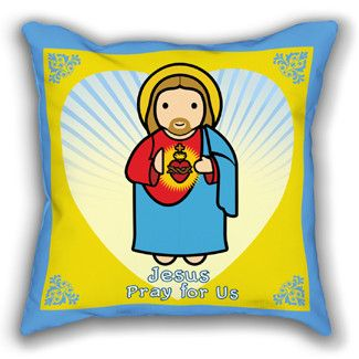 Sacred Heart Pillowcase $ 23
