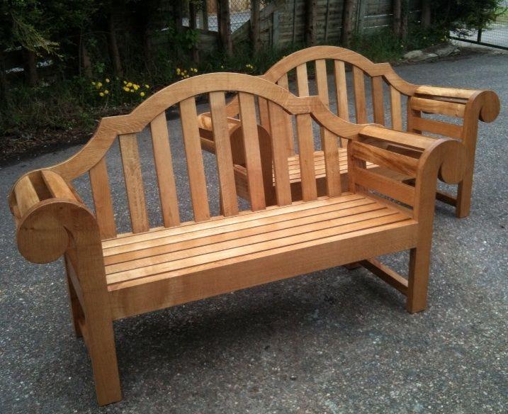 delhi bench 6 pair edwin lutyensoutdoor benchesgarden furnituregarden