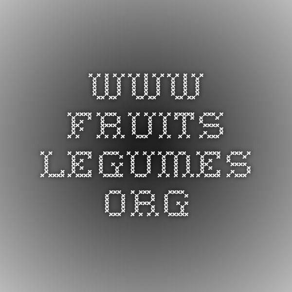 www.fruits-legumes.org