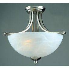 Semi Flush Art Deco Style Ceiling Light: IMP-PG00532/16/SF