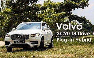 Volvo XC90 T8 Drive-E Plug-In Hybrid – 油,與電