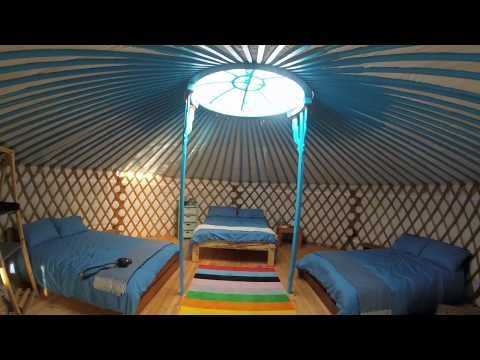 Unforgettable Luxury Glamping Holidays at Fir Hill Yurts, Cornwall