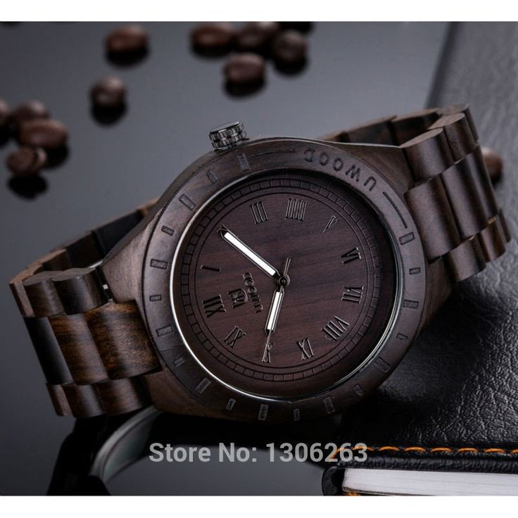 Men wooden Watches Casual Vintage Retro Stylish
