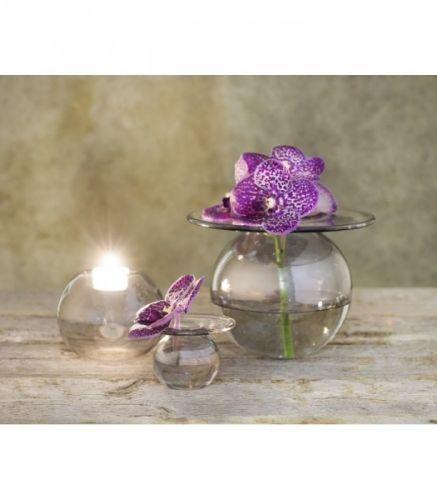Finn+Schjølls+vakre+vase+boblen+i+metallic+sølv+farve.+Her+oser+det+av+tidligvår+og+lun+hygge.+Boblen+er+en+bestselger+og+et+samleobjekt.Formgivningen+er+inspirert+av+vanndråpersom+perler+på+marikåpe+etter+regnvær.+Den+bredekragen+på+vasen+holder+godt+på+de+små+blomstene.Serien+BOBLEN+består+i+dag+av+to+kolleksjoner:+BOBLEN+KLAR+ogBOBLEN+SCHACKMATT.+Boblen+er+munnblåstog+håndlaget+av+erfarne+glassblåsere+med+langetradisjoner+i+håndverket.+De+vil+derfor+ha+et+helt+unik...