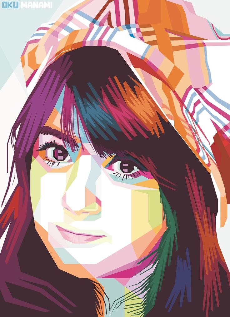 Oku Manami (Ex Japanese Idol) in WPAP, I can make it to your photo too