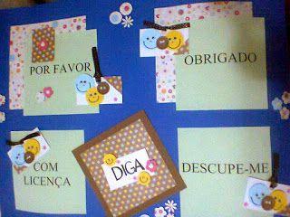 Meu fabuloso mural: Calendário de EVA e Cartaz de Palavras Mágicas