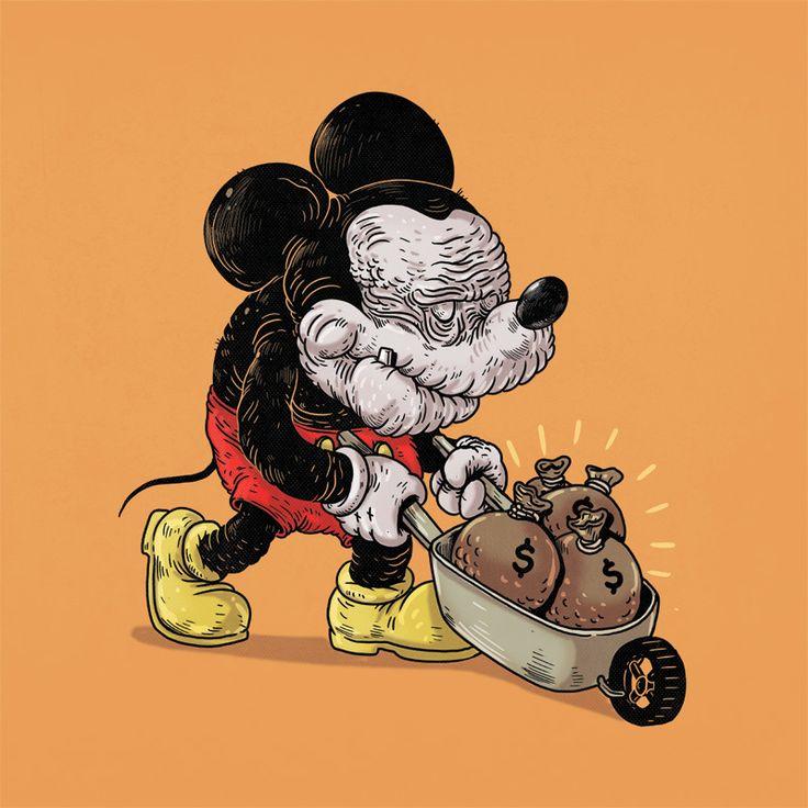 mickey mouse velho