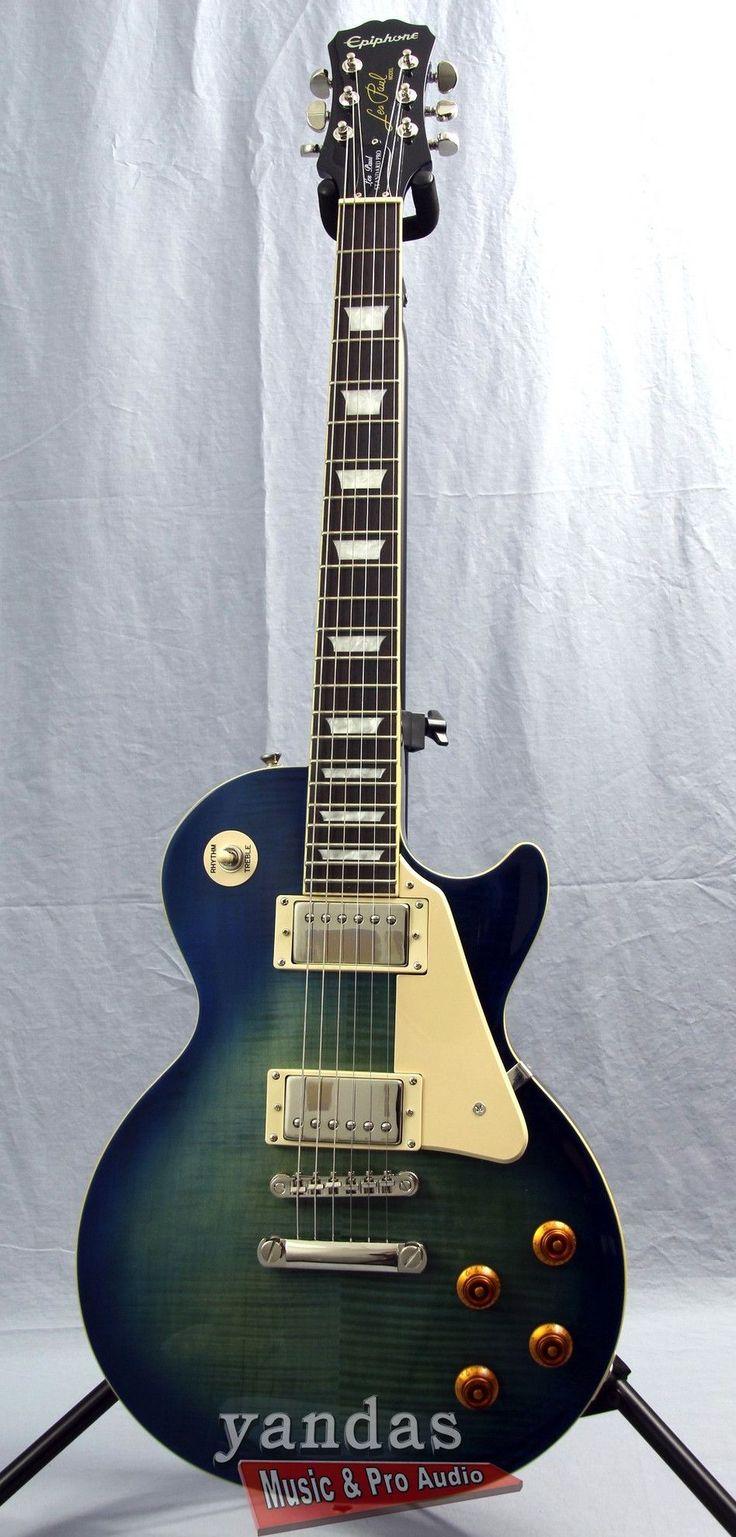 Epiphone Les Paul Standard PlusTop Pro Electric Guitar | B Stock www.guitaristica.org #electricguitar #guitars #guitaristica