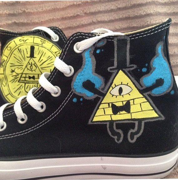 Bill cifrado Gravity Falls Converse personalizado