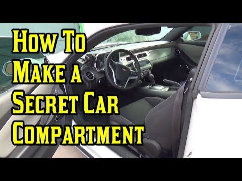 How to Make a Secret Car Compartment « Hacks, Mods & Circuitry :: Gadget Hacks