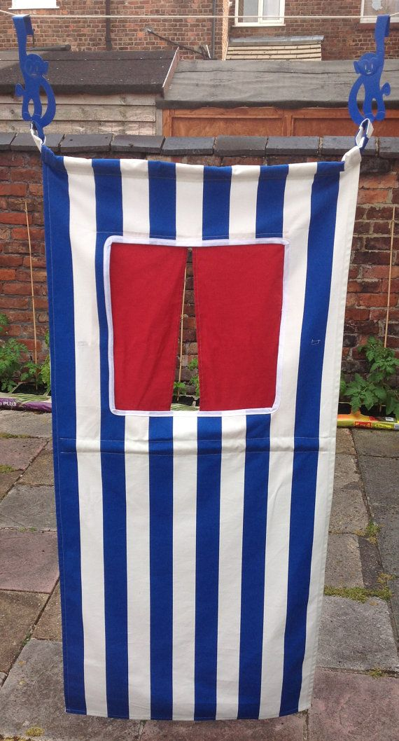 Doorway Puppet Theatre by NaisyHomemade on Etsy