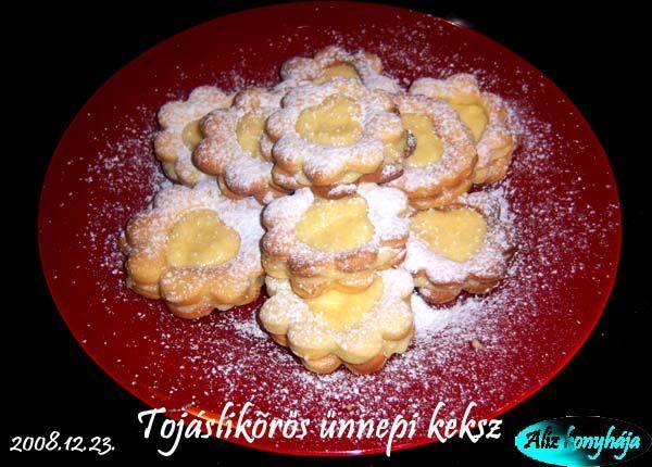 Tojáslikőrös ünnepi keksz - Képtár - G-Portál