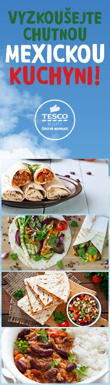 Vyzkoušejte chutná jídla z mexické kuchyně!