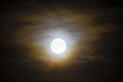 Super Moon 2015 over Leeds by Carl Milner