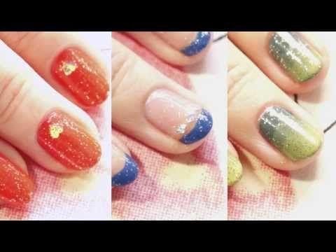 Easy Spring/Summer Nails ~REVLON TOPSPEED 速乾ネイル~ - YouTube