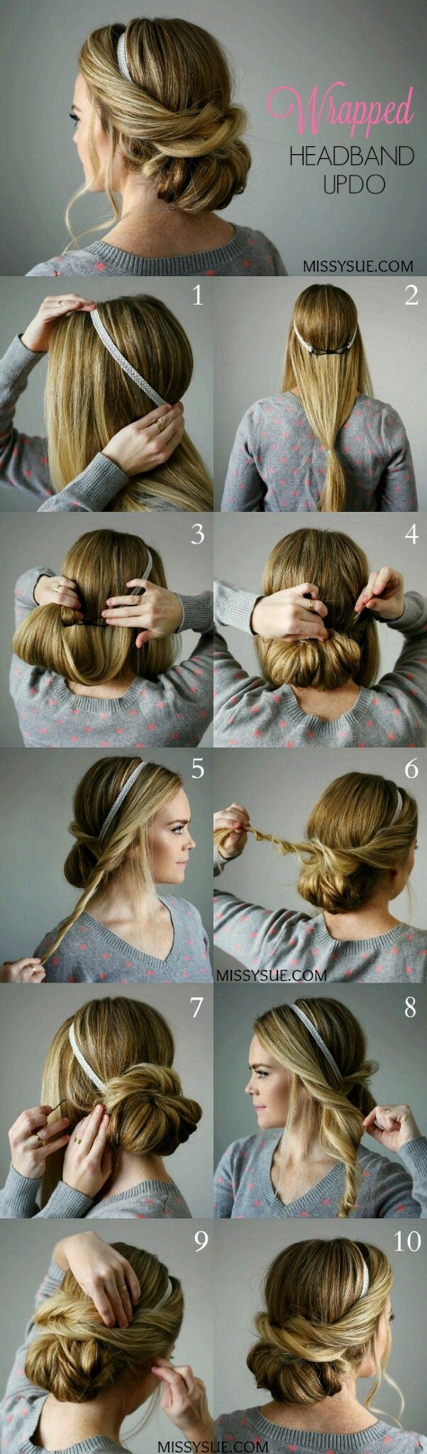 Cute Quick Hairstyles Endearing 17 Best Peinados Images On Pinterest  Coiffure Facile Hairstyle