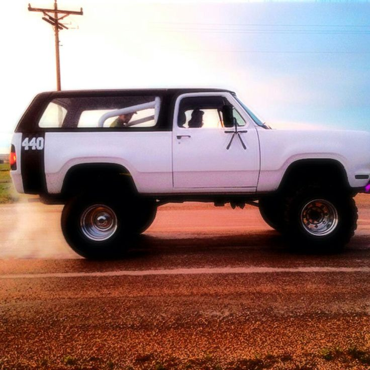 Love a Ramcharger or a Trailduster