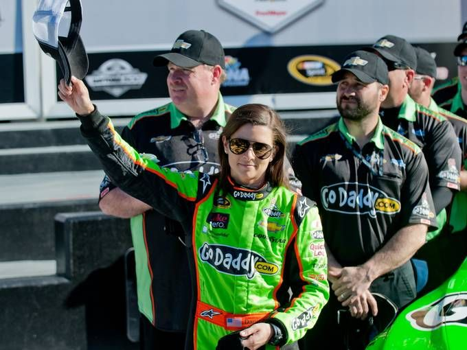 Danica Patrick - not even a Nascar enthusiast but her story is quite inspiring and cannot be ignored!