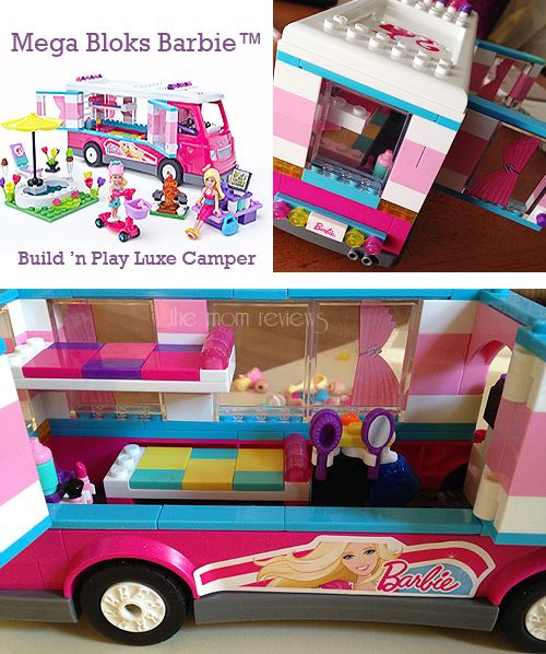 I just entered to win a Mega Bloks Barbie™ Build 'n Play Luxe Camper at The Mom Review