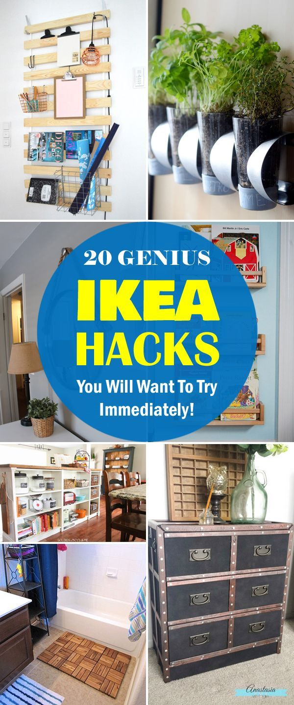 Transform affordable IKEA products into creative new pieces for your home!