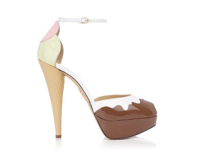 アイスクリームやサンデーが靴のデザインに「シャーロットオリンピア」限定イベント開催 | Fashionsnap.com