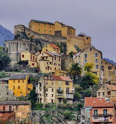 Winter morning in Corte ~ Corsica, France   Flickr - Photo by FrenchLandscapes
