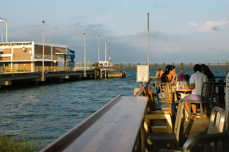 This restaurant on the Charleston waterfront bustles with visitors, locals and families – chowing on some very down-to-earth southern fare with a heavy local seafood presence