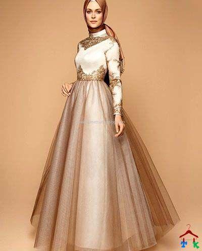 Robe de soirée femme voilée1