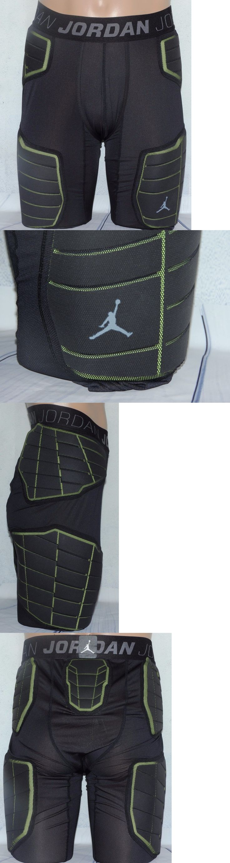 Basketball: Nike Pro Combat Air Jordan Basketball Padded Compression Pants,Black,Mens, Xl BUY IT NOW ONLY: $52.99