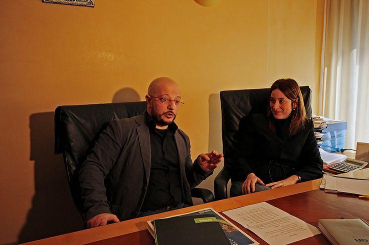 Il #lavoro di #INTERNAZIONALIZZAZIONE di Hadaf Team assieme a Luciana Alioto presso #ICAR Arredi