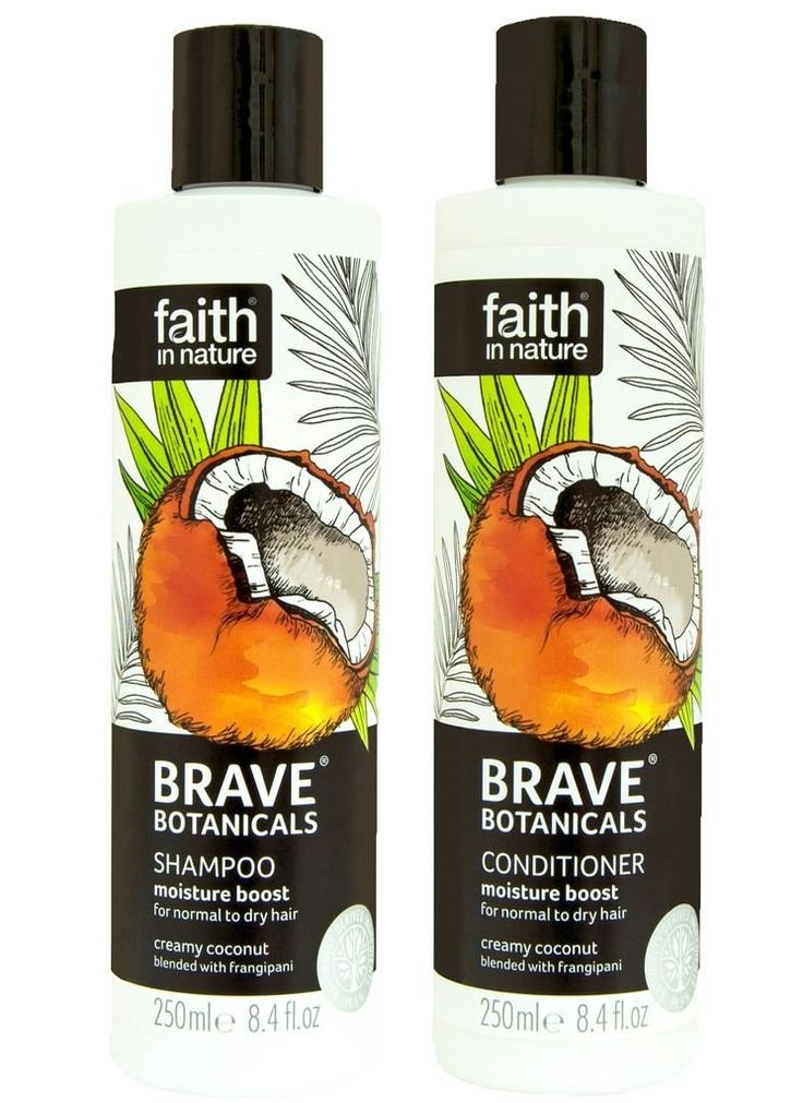 Faith In Nature Brave Botanicals Coconut and Frangipani