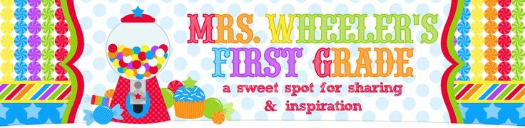 Mrs. Wheeler's First Grade Tidbits
