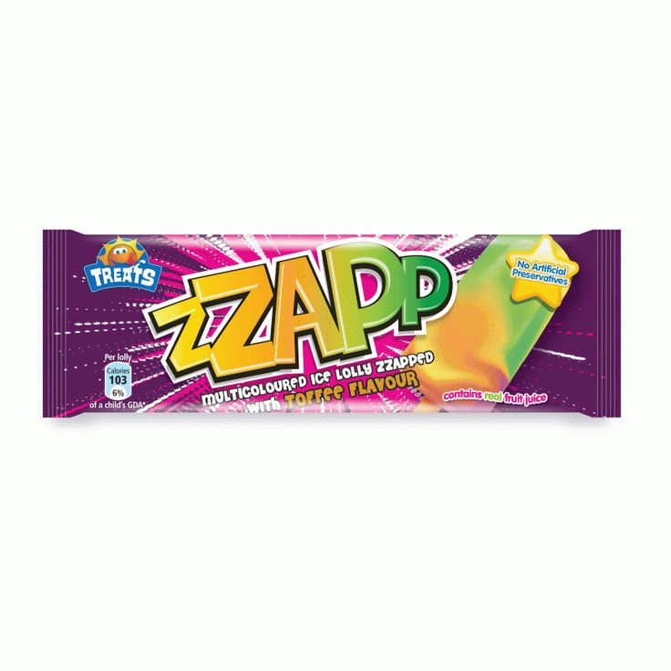 Zap ice lolly - something of a relic and a rare treat
