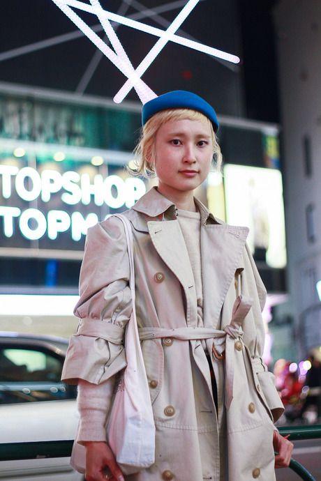 @Tracy Street of Harajyuku, Tokyo 名前: 京里撮影場所: 原宿年齢: 25職業: 美容師コメント: CODE+LIMよろしくお願いします。アウター: COSMIC WONDERトップス: usedボトムス: HOPEシューズ: tricot COMME des GARCONS帽子: Yohji YamamotoPhoto by: ヒキヌマ