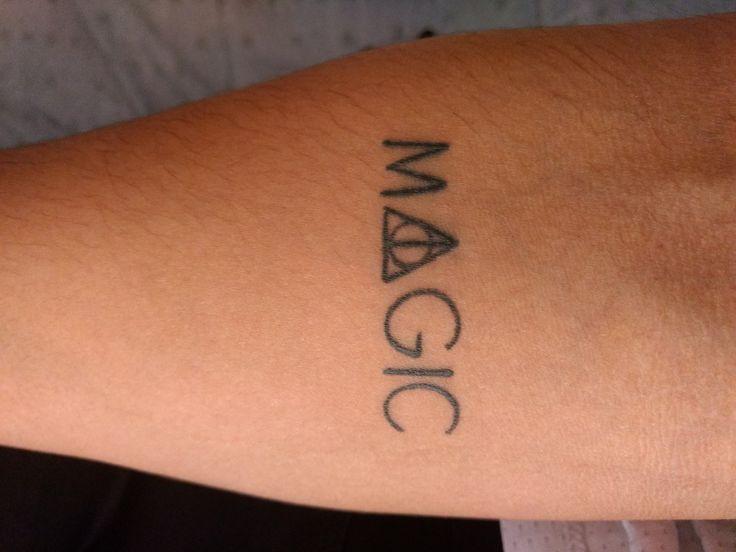 Tatuaje Harry Potter.