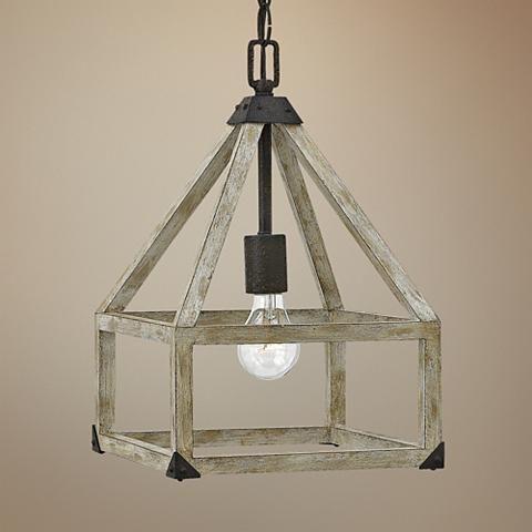 "Fredrick Ramond Emilie 10"" Wide Iron Rust Mini Pendant - #7W765 | Lamps Plus"