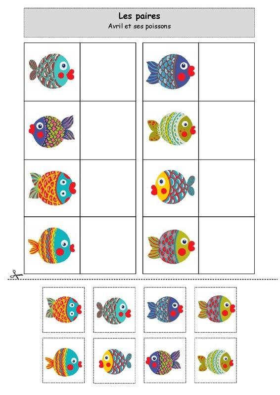 Les paires : Avril et ses poissons