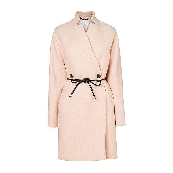 Perugia Cocoon Coat (820 CAD) L.K. Bennett  #CocoonCoat #PinkCoat #PrettyinPink